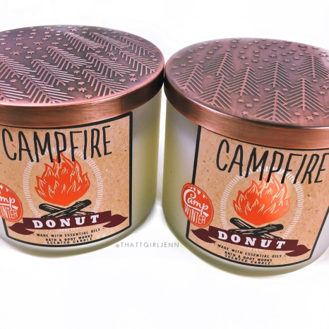 Bath Amp Body Works Campfire Donut Candle Review